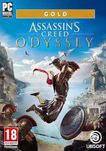 Assassins creed odyssey gold edition pc español