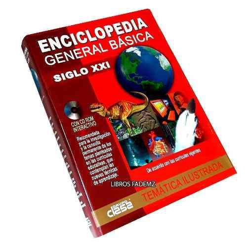 Libro enciclopedia general básica siglo xxi + cd