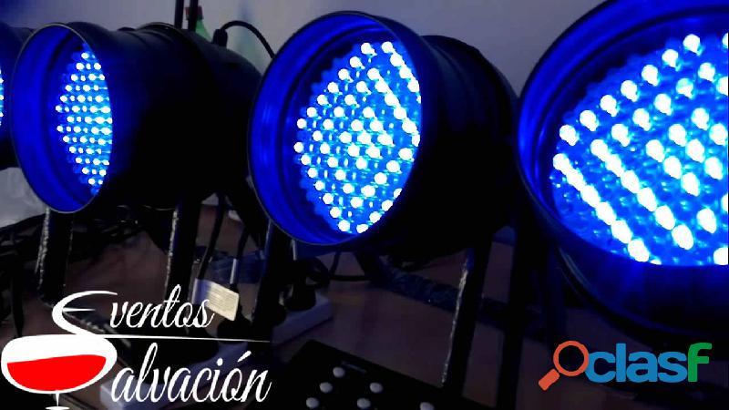 Alquiler de luces led   eventos