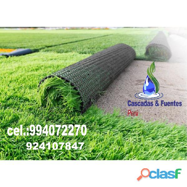 Grass artificial, bomba sumergible