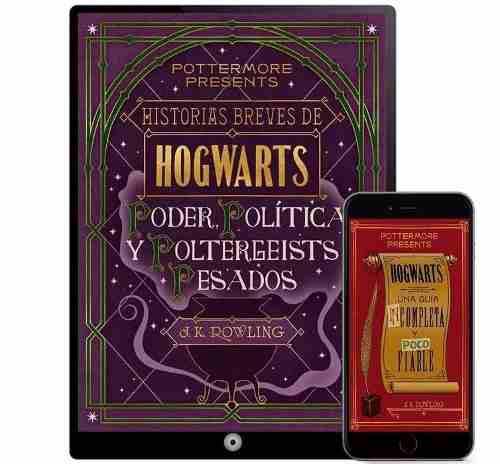 Harry potter historias breves de hogwarts 21 libros- digital