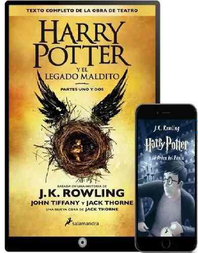 Libros harry potter. coleccion completa-digital