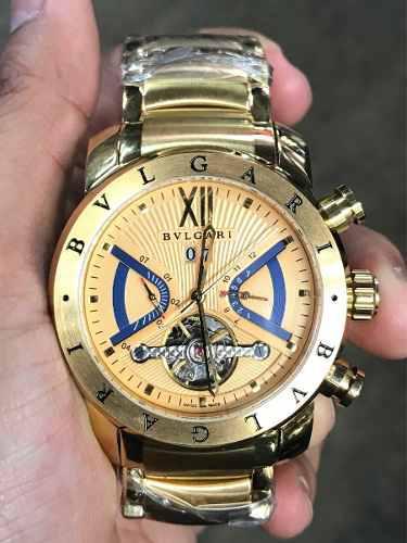 a77be04906c Reloj bvlgari automático dorado edición limitada en Lima   REBAJAS ...