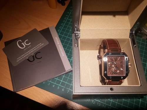 0aefb244160b Reloj guess collection gc swiss chronograph g50001g1