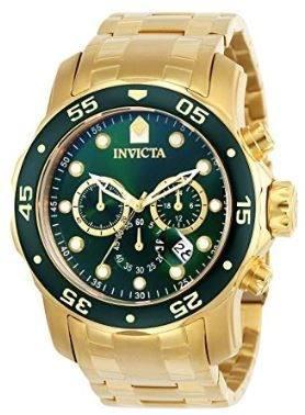 72282d1d706a Reloj invicta dorado 0075 pro diver nuevo y original