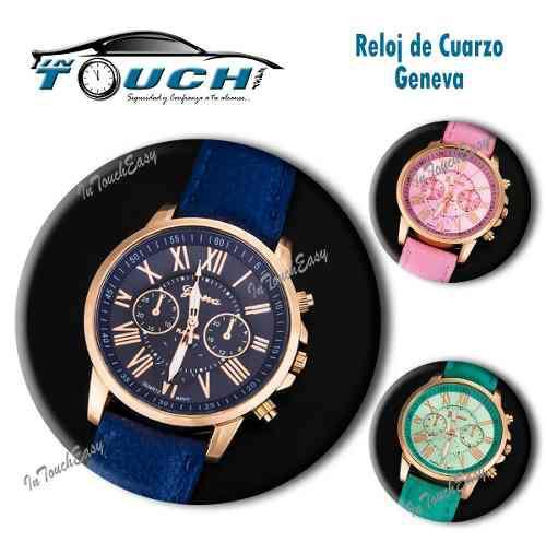 9d3a32174036 Reloj pulsera de cuarzo para mujer geneva al por mayor en Lima ...
