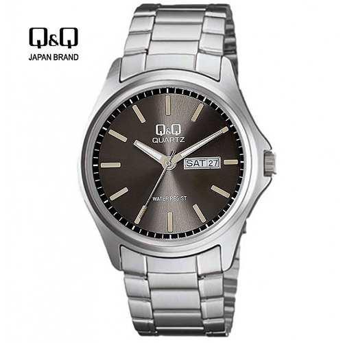 12355dd63dcb Reloj q q hombre analógico acuático fechero acero casual q en Lima ...