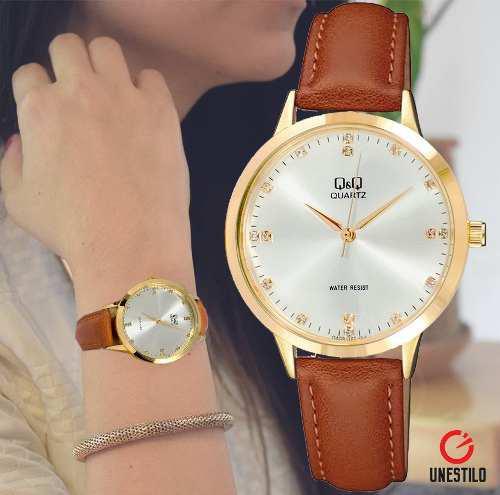 e49ace3035ba Reloj pulsera cristal oro 【 REBAJAS Junio 】 | Clasf