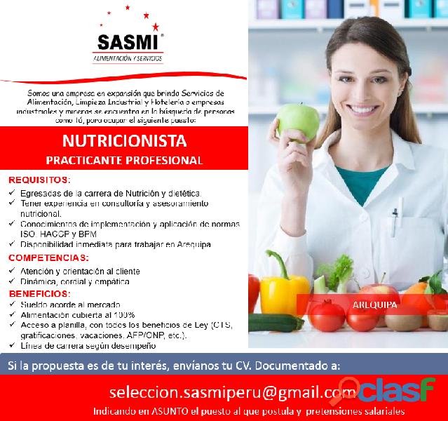 ¿qué es un nutricionista de alimentos?