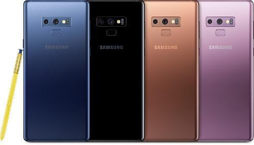 Samsung galaxy note 9 l/fa. ip68 128gb 6gb ram sellado