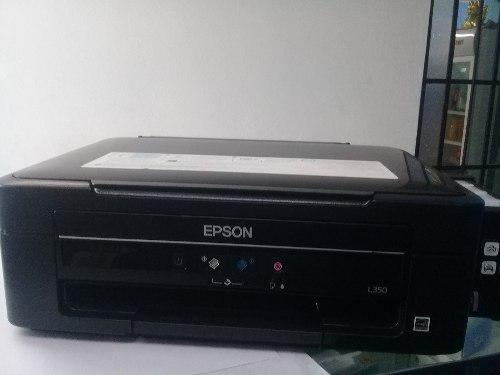 Impresora epson multifuncional l350