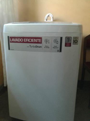 Venta de lavadora lg turbo drum 13 kilos.estado 9/10