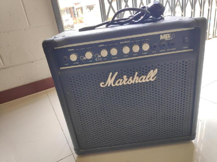Amplificador bajo marshall mb series 15w