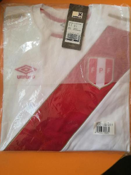 Camiseta selección perú mundial 2018 elite umbro