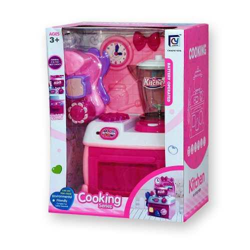 Cocina mas licuadora juguete