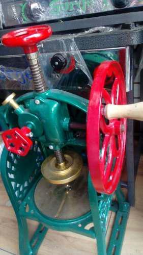 Maquina raspadilla base bronce nuevos