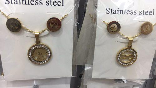 1edf4e892b50 Al por mayor joyas de acero dorado para niñas y adultos