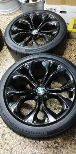 AROS 20 BMW ORIGINALES CON LLANTAS RUNFLAT X3,X4,X5,X6 segunda mano  Lima (Lima)
