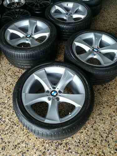 AROS 20 BMW ORIGINALES DOBLE MEDIDA CON LLANTAS RUNFLAT, usado segunda mano  Lima (Lima)