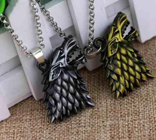 Collar collares juegos de tronos metalicos