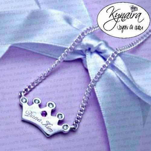 376e95541fdb Collar nombre plata   REBAJAS Junio