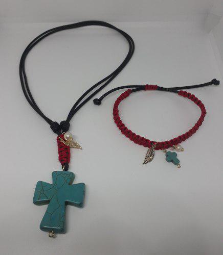 27b25a3d80df Collar turquesa con pulsera bisuteria por mayor y menor en Lima ...