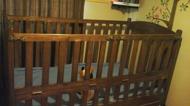 Cuna corral de plaza y media bebe