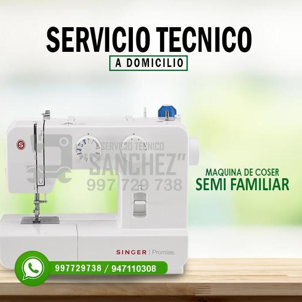 Servicio técnico de maquinas de coser textil