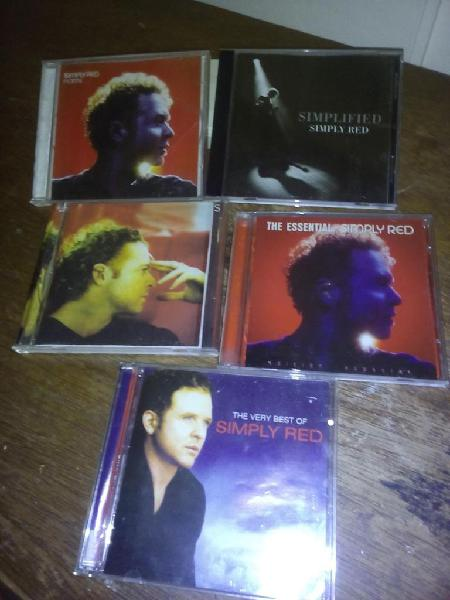 8 cds simply red