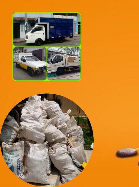 Mudanzas taxi carga eliminación desmonte