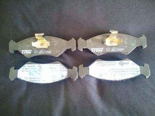 Pastillas de freno trw para ford fiesta, ford ka y mazda 121