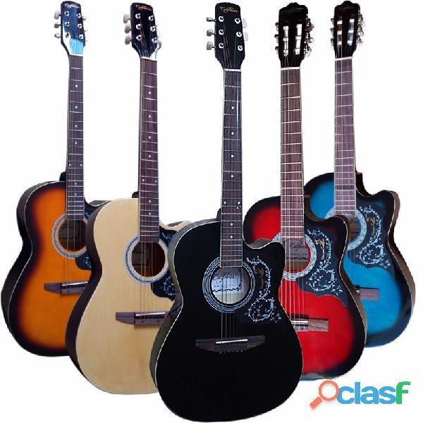 Guitarra acustica de colores precio 150 lima peru