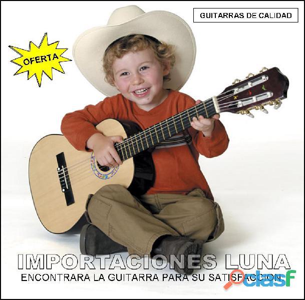 Guitarra acustica para niños