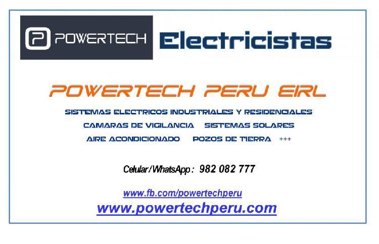 Electricistas en huanuco: domesticocomercialindustrial