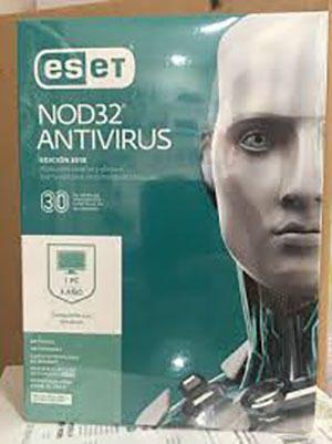 Eset nod32 antivirus - v 2019 1pc 1 año - caja