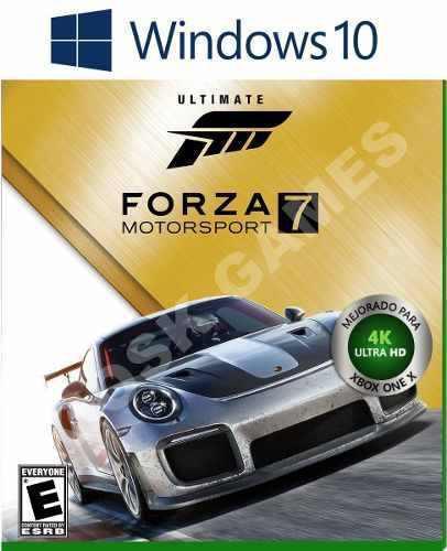 Forza motorsport 7 ultimate pc windows 10 - online