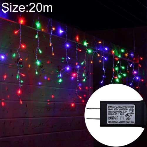 Iluminacion led luz decorativa navidad ul588 20m ip43 pnvj