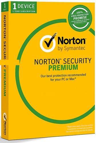 Norton security premium 1pc 1 año original