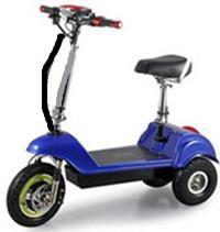 Scooter eléctrico bateria recargable tres llantas