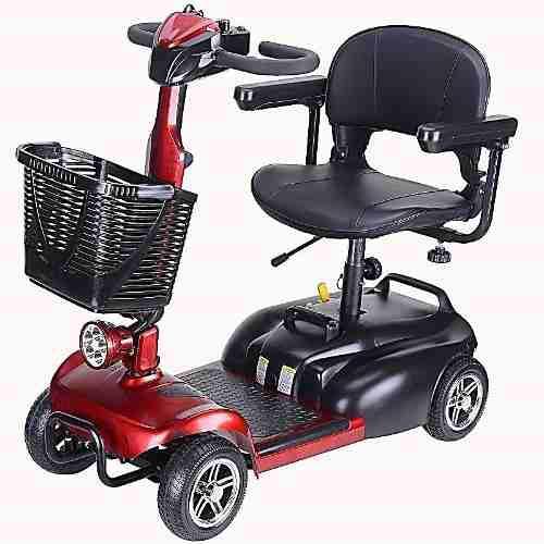 Scooter eléctrico de 4 ruedas - silla de ruedas eléctrica