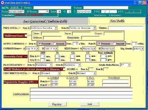 Software para informes ecográficos, ecógrafos, ecografias