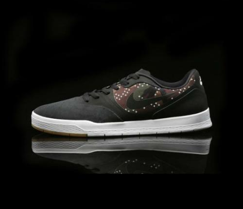 Nike sb paul rodriguez 9 black/camo talla 9 42.5
