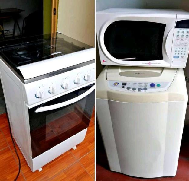 Remato cocina lavadora microondas