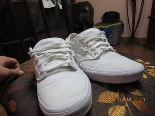 Vendo zapatillas vans color blanco (talla 41) cc39f61c1e5