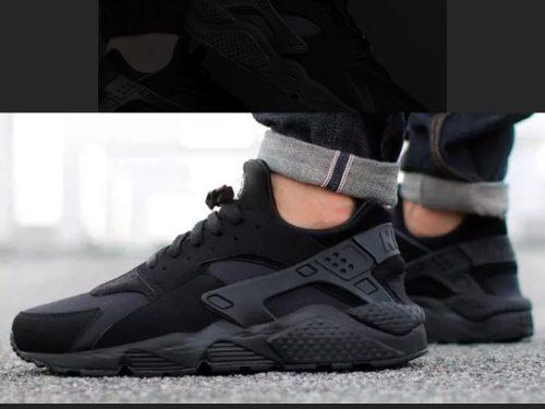 b20b70a230b6 Zapatillas nike huarache mod-2017 -men-black