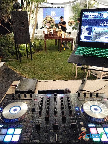 Alquiler de equipos de sonido, dj y luces