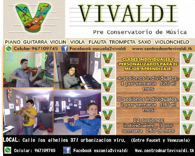 Canto Piano Guitarra Violin, Clases
