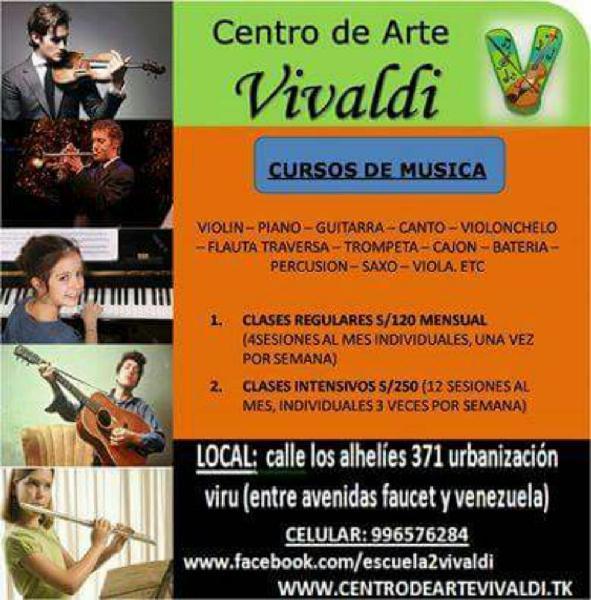 Clases Violin Piano Guitarra