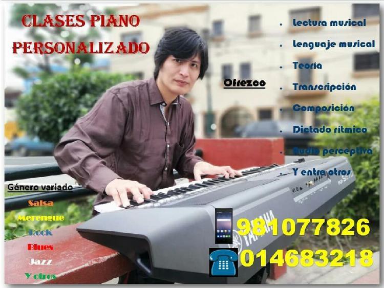 Clases de Piano Sintetizador