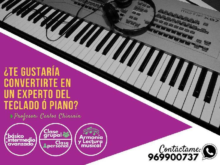 Clases de Teclado Y Piano
